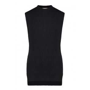 AI&KO girls Mava spencer trui in de kleur black zwart