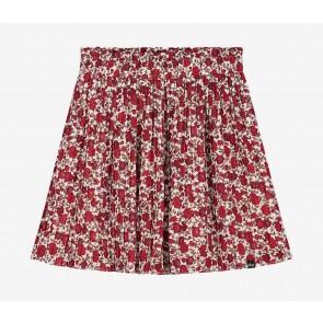 Nik en Nik kids girls Isla flower skirt in de kleur ecru/rood
