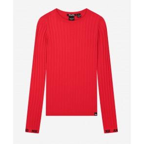 Nik en Nik kids girls Cyrah pullover top in de kleur rood