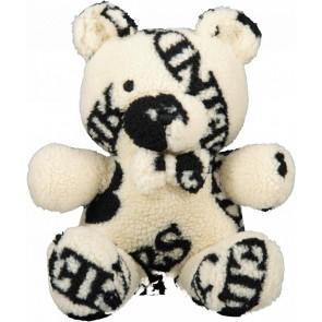 Reinders girls Teddy beer met all over print in de kleur ecru/zwart
