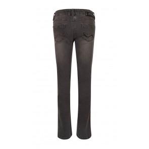Indian blue jeans girls grey lola flared fit broek met wijde pijp in de kleur grijs