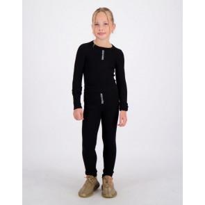 Reinders kids girls fijngebreide Livia knitwear broek in de kleur zwart