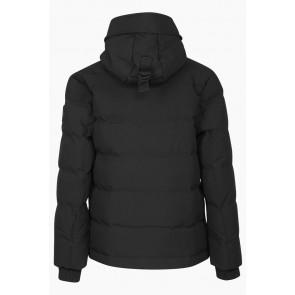 Airforce kids boys winterjas mitchell parka technical softshell in de kleur zwart