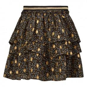 Retour jeans kids girls gebloemde rok Anice in de kleur goud/toffee
