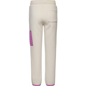 Tommy Hilfiger kids girls soft colorblock fleece broek in de kleur zand