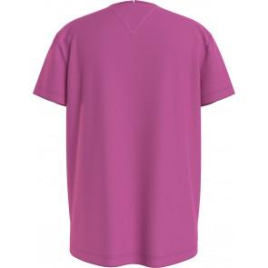 Tommy Hilfiger kids girls tommy girls sequins t-shirt in de kleur roze
