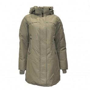 Airforce kids girls winterjas tailor made parka in de kleur brindle groen