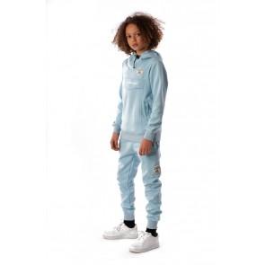 Black Bananas kids anorak hoodie sweater trui in de kleur lichtblauw