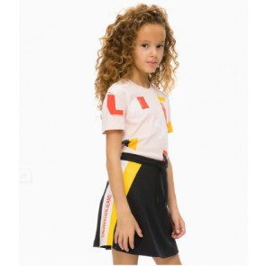 Calvin Klein kids girls two colors skater skirt in de kleur zwart
