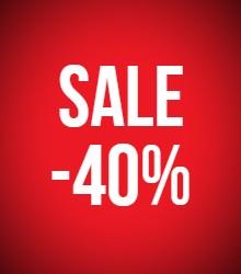 -40% korting op geselecteerde items